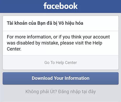 Nhiều tài khoản Facebook bị khóa sau khi report kẻ xấu.
