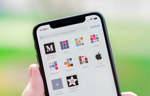 Trình duyệt Safari trên iPhone. Ảnh: iMore.