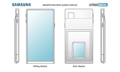 Nguyễn mẫu bằng sáng chế của Samsung. Ảnh: LetsGoDigital.