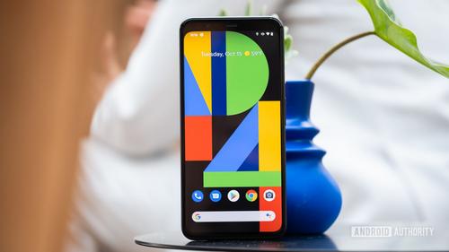 Pixel 4 có dung lượng pin không quá lớn. Ảnh: Android Authrity.