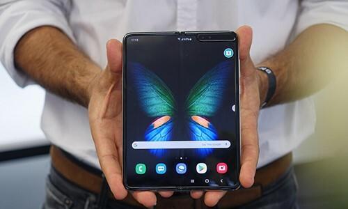 Samsung Galaxy Fold. Ảnh: PhoneArena.