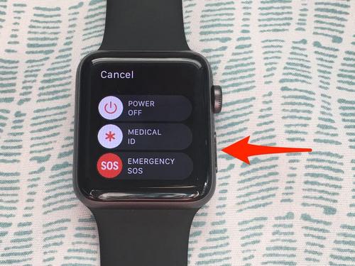 Tính năng gọi số khẩn cấp trên Apple Watch. Ảnh: BI.