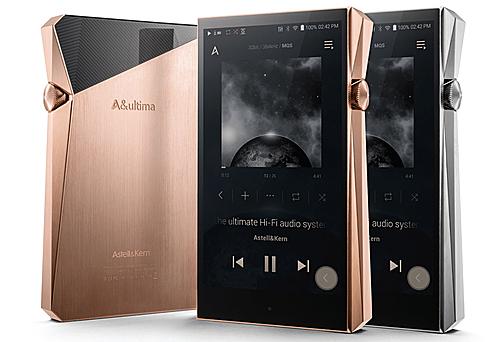 Máy nghe nhạc A&Ultima SP2000 của Astell&Kern mới ra mắt trong tháng 9 tại Hàn Quốc.