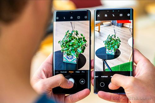 Huawei P30 Pro và Mate 30 Pro. Ảnh: GSMArena.