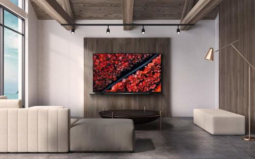 TV LG OLED C9 nổi bật trong mọi không gian.
