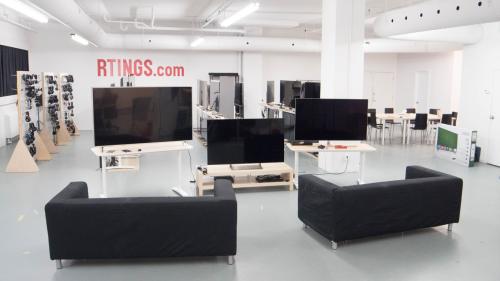 Phòng test sản phẩm của Rtings.
