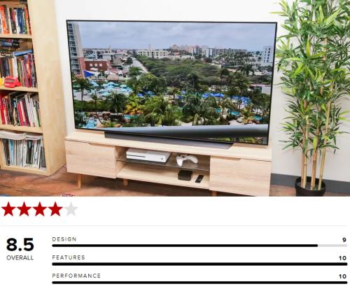 Cnet chấm TV LG OLED điểm 10 về chất lượng hình ảnh và tính năng.