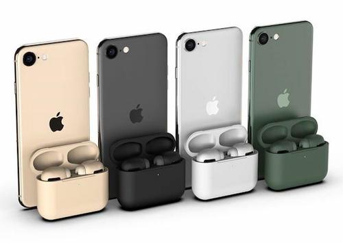 AirPods Pro sẽ có màu sắc đồng bộ với iPhone 11 Pro. Ảnh: MacRumors
