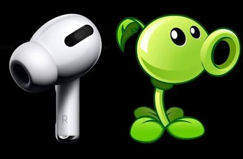 AirPods đã sẵn sàng để chiến đấu với zoombie trong trò chơi Plants vs. Zombies.