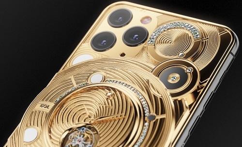 iPhone 11 Pro Discovery Solarius. Ảnh: Caviar.