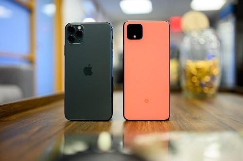 iPhone 11 và Pixel 4 được đánh giá là những mẫu smartphone chụp ảnh đẹp nhất hiện nay. Ảnh: Digital Trends