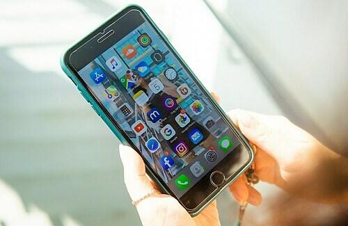 iPhone 7 Plus ra mắt từ năm 2016. Ảnh: Lưu Quý.