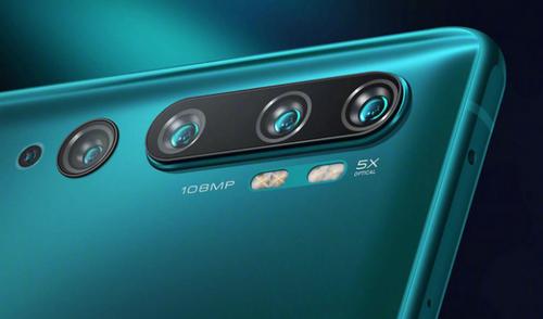 Mi CC9 Pro Premium Edition có camera sau 5 ống kính.