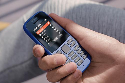 Nokia 105 là một trong những chiếc máy bán chạy nhất tại Việt Nam. Ảnh: Nokia
