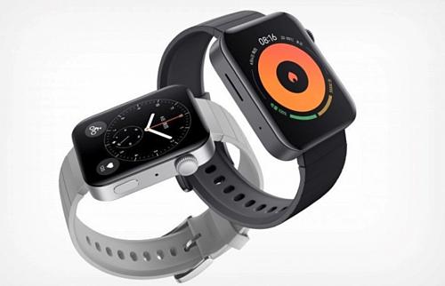 Một số mặt đồng hồ và giao diện ứng dụng của Mi Watch giống với Apple Watch.