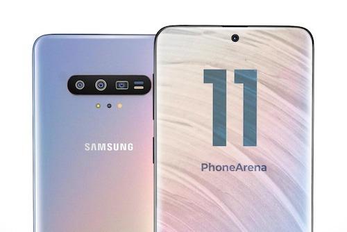 Galaxy S11 series sẽ được nâng cấp mạnh về màn hình, pin, camera và kết nối 5G. Ảnh: PhoneArena.