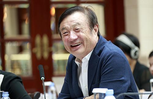 Chủ tịch Huawei Nhậm Chính Phi. Ảnh: Huawei.