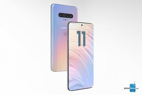Phiên bản Galaxy S11 cao cấp nhất có thể được trang bị màn hình lớn. Ảnh: Phonearena.