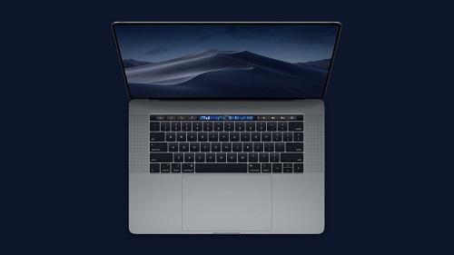 Thanh TouchBar và TouchID của MacBook Pro 16 inch có thể được Apple thiết kế lại. Ảnh: 9to5mac