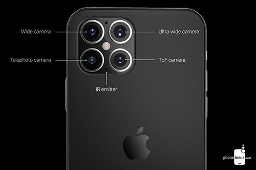Thông số camera trên iPhone 12. Ảnh: Phonearena.