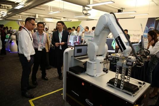 Một công nghệ được giới thiệu tại sự kiện.