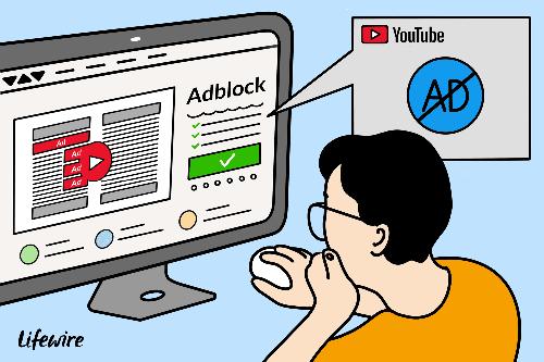 Việc người dùng sử dụng AdBlockcó thể khiến YouTube mất doanh thu quảng cáo. Ảnh: Lifewire.