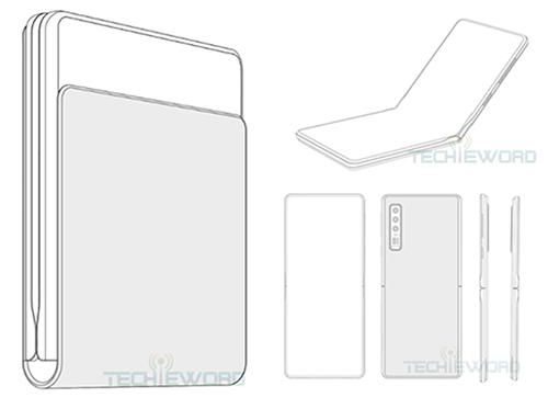 Hình dáng smartphone mới của Huawei. Ảnh: Techieword.
