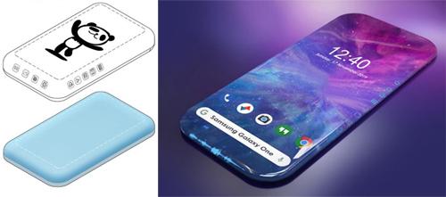 Bản vẽ trong hồ sơ của Samsung và ảnh dựng do LetsGoDigital thực hiện.