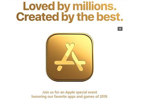 Apple tổ chức sự kiện riêng để tôn vinh các ứn dụng.