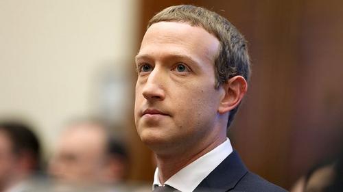 CEO Facebook Mark Zuckerberg. Ảnh: The Hill.