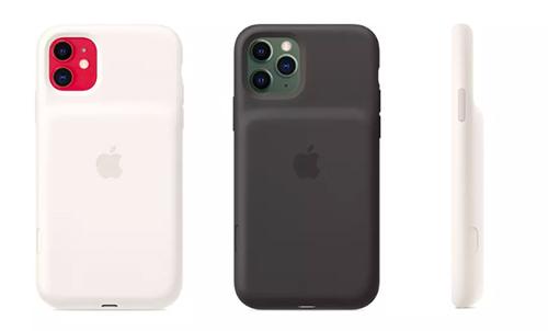 Ốp lưng mới có phần khoét camera lớn hơn và được bổ sung nút kích hoạt nhanh camera. Ảnh: Apple.