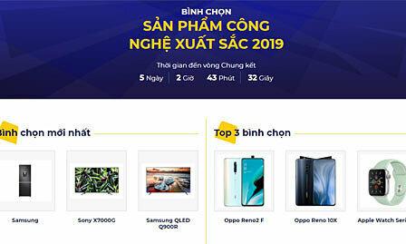 73 sản phẩm và thương hiệu tranh tài tại Tech Awards 2019