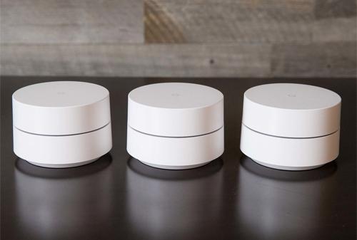 Một bộ sản phẩm Mesh Wi-Fi tiêu chuẩn từ Google có 3 node.