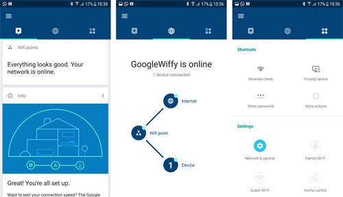 Các bộ sản phẩm Mesh Wi-Fi đều có ứng dụng quản lý thiết bị kết nối và hướng dẫn cài đặt cho người dùng phổ thông.