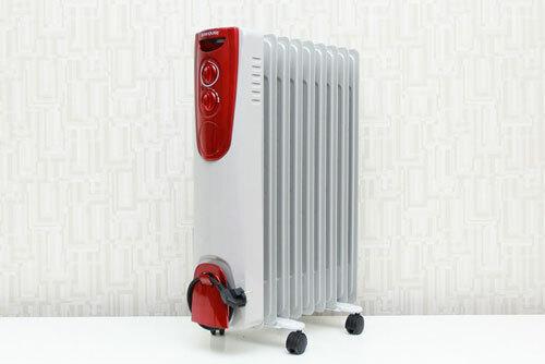 Người dùng không nên dùng quạt sưởi ấm qua đêm.