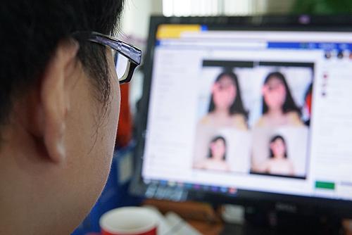 Chiêu trò dùng ảnh khiêu dâm để dụ người dùng khai mật khẩu Facebook đang xuất hiện trở lại tại Việt Nam. Ảnh: Lưu Quý
