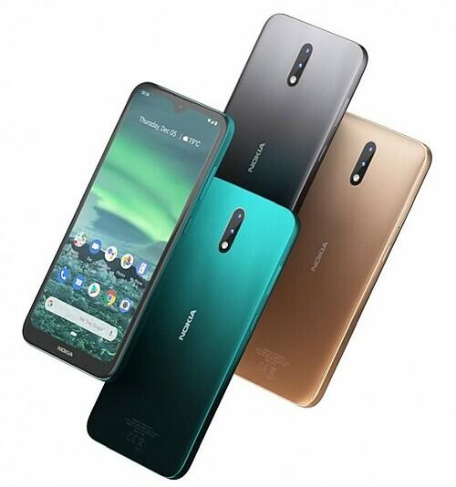 Nokia 2.3 có màn hình 6,2 inch.