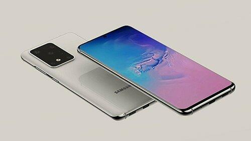 Ảnh dựng về Galaxy S11+.