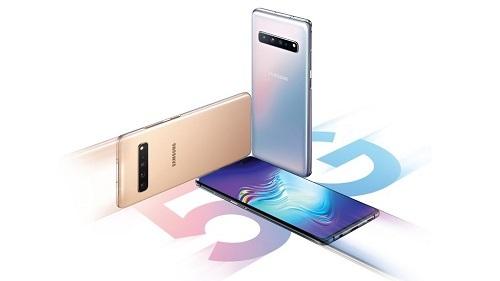 Samsung đã sớm đầu tư để mở rộng dòng sản phẩm smartphone 5G, từ những mẫu smartphone trung cấp dòng A đến Galaxy Fold 5G. Ảnh: T3.