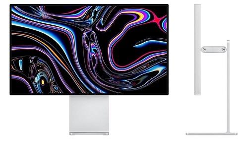 Màn hình Apple Pro Display XDR giá 4.999 USD kèm giá đỡ 999 USD. Ảnh: Tweak Town.