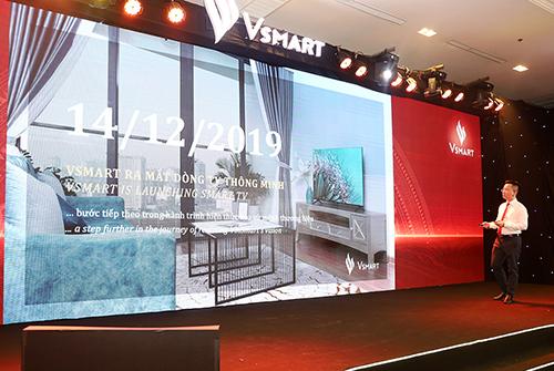 VinSmart chính thức gia nhập thị trường TV tại Việt Nam.
