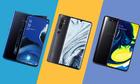 Ba smartphone cận cao cấp đọ sức