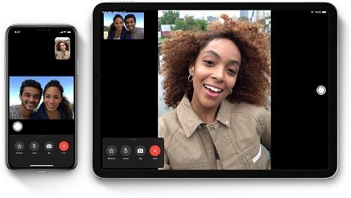 Ứng dụng FaceTime. Ảnh: Apple.