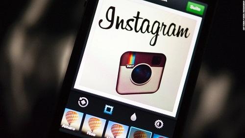 Logo của Instagram vào năm 2012. Ảnh: CNN.