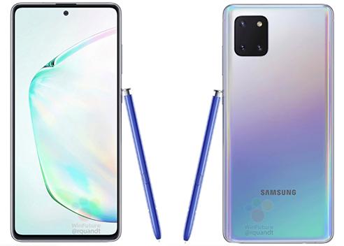 Ảnh được cho là Samsung Galaxy Note10 Lite.
