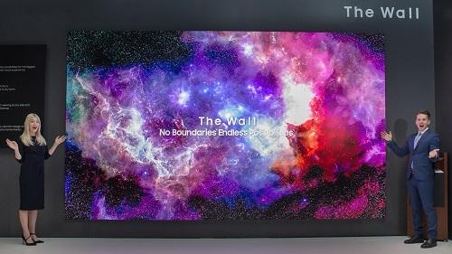 Năm ngoái, Samsung đã giới thiệu The Wall mẫu TV micro LED kích thước 146 inch tại CES ở Las Vegas.