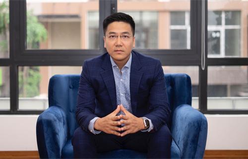 Ông Nguyễn Minh Đức, sáng lập và CEO CyRadar.