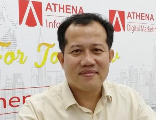 Ông Võ Đỗ Thắng, Giám đốc trung tâm Athena.