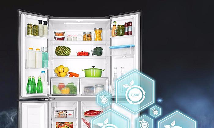 Aqua Flex Cooling - tủ lạnh bốn cửa nhiều công nghệ