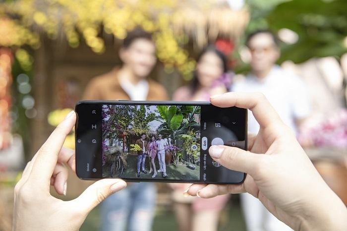 Khả năng chụp ảnh là điểm nhấn trên dòng Galaxy A.